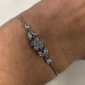 NWT Kate Spade Silver Slider Bracelet